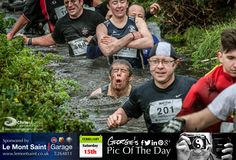 Today's Mud 'N' Fun organised by Guernsey Hash House Harriers & sponsored by Grant Thornton. Am not sure which is the 'fun' bit? #OnOn #LoveGuernsey   http://chrisgeorgephotography.dphoto.com/#/album/cbc2cr/photo/21601629  Picture Ref: 15_02_14 — at St. Peter Port, Guernsey.