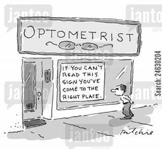Optical Humor... Follow us on FaceBook! www.facebook.com/eyecarefortcollins.com or visit our website @ www.eyecarefortcollins.com