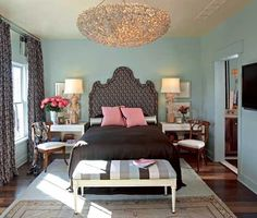 This bedroom gives me so many ideas!