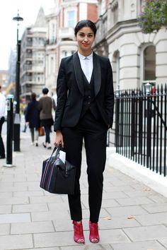 Street Style From London Fashion Week, Part Three - The Cut
