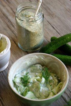 Rezept für einen Salatsaucen-Mix von Glasgeflüster