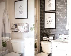 9 Vivid Cool Tips: Traditional Bathroom Remodel Woods affordable bathroom remodel builder grade. Stick On Tiles, Peel And Stick Tile, Cheap Bathroom Remodel, Kids Room Design, Simple Bathroom, Bathroom Ideas, Home Renovation, Farmhouse, Wood