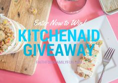 awesome Enter to win a KitchenAid Artisan Stand Mixer {US} (7/10/2016) #giveaway #sweeps #win