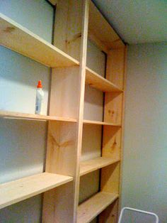 Wall Bookshelves Ideas how to build a bookcase: step-by-step woodworking plans