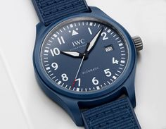 """IWC - Pilot's Watch Automatic Edition """"Laureus Sport for Good"""" IW328101   Time and Watches   The watch blog"""