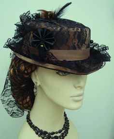 victorian ladies hats - Google Search