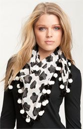 Scarves. Both heavy and light ones. A touch of elegance.