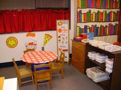 PIZZA SHOP WEEK: dramatic play ask parents and other teachers to save pizza boxes from home...or ask a local pizza place to donate some clean boxes if you advertise for them