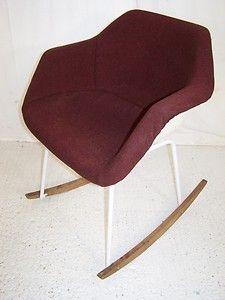 vintage retro 1976 Robin day Hille armchair new rocking base design 60s 70s | eBay