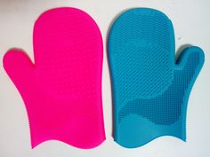makeup brush Wash gloves