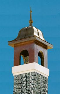 chimney cap with finial