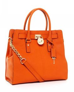 $83.99 - MICHAEL Kors Hamilton Large North South Tote Tangerine -MICHAEL Kors bags Outlet,Cheap MICHAEL Kors bags Outlet Save Up To 80% Off