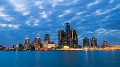 Detroit, Michigan in Michigan