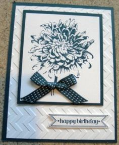 Handmade card using the Blooming with Kindness stamp set by Stampin' Up!