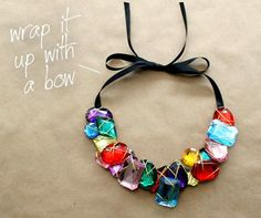 como  hacer un collar joya