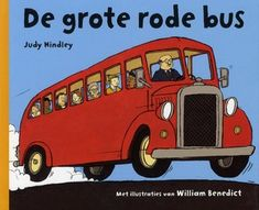 """When the red bus gets stuck in a huge pothole, all the vehicles coming behind it have to stop, too. Tractor to the rescue! """"The Big Red Bus,"""" by Judy Hindley. (This book would be a great segue into the favorite song """"The Wheels on the Bus"""") Preschool Age, Preschool Crafts, Therapy Activities, Activities For Kids, Big Red Bus, Wheels On The Bus, Tractors, Kids Toys, Transportation"""