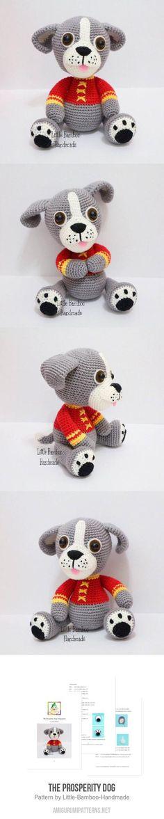 The Prosperity Dog amigurumi pattern