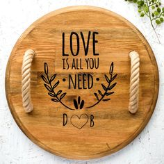 This item is unavailable Snack Platter, Snack Bowls, Wooden Serving Trays, Round Tray, Wood Slices, Handmade Wooden, Love Is All, Bamboo Cutting Board, Safe Food