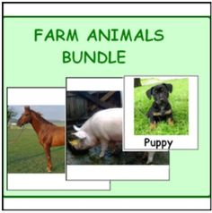 FARM ANIMALS BUNDLE (Activities and Games)