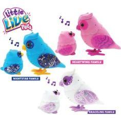 little live pets tweet talking owl and baby graceling. Black Bedroom Furniture Sets. Home Design Ideas