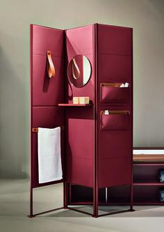https://decdesignecasa.blogspot.it Divider Screen, Partition Screen, Folding Partition, Folding Screens, Changing Screen, Minimalistisches Design, Interior Design, House Design, Room Dividers