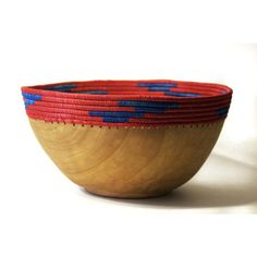 Copabu Bowl Blue And Red by Indego Africa #productdesign