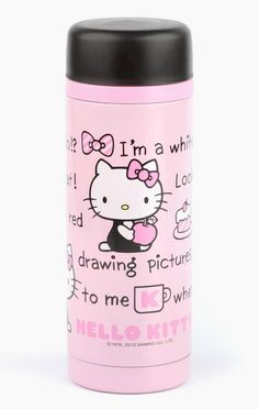 For yummy Hello Kitty drinks on the go