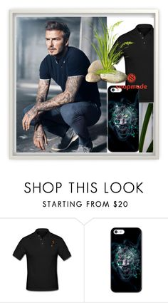 """""""SNAPMADE 9"""" by elza-345 ❤ liked on Polyvore featuring men's fashion and menswear"""