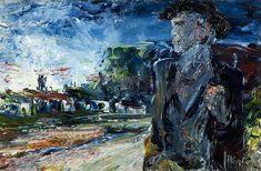 Return of the Wanderer Jack B Yeats Ulster Museum Gallery Of Modern Art, Art Gallery, Uwe Johnson, Irish Painters, Jack B, Irish Art, Art Uk, National Museum, Your Paintings