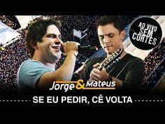 Jorge & Mateus - Se Eu Pedir Cê Volta? - [DVD Ao Vivo Sem Cortes] - (Clipe Oficial) - YouTube Dvd, Shows, Video Clip, Youtube, Movie Posters, Album, Want You, Musica, Film Poster