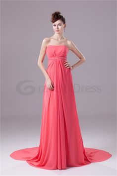 Fantastic Strapless Brush/ Sweep Train Sleeveless Formal Evening Dress http://www.GracefulDress.com/Fantastic-Strapless-Brush-Sweep-Train-Sleeveless-Formal-Evening-Dress-p19671.html