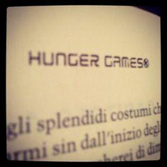 Reading #thg #catchingfire in Italian...