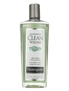 This Neutrogena Clean Volume Shampoo removes product buildup and boosts shine so fine hair looks more voluminous.