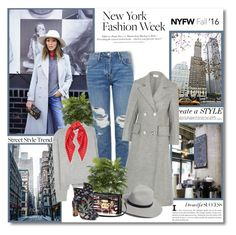 """Day Two: The Best NYFW Street Style"" by lilly-2711 ❤ liked on Polyvore featuring Schone, Acne Studios, Topshop, Isa Arfen, rag & bone, Valentino, Ralph Lauren, H&M, women's clothing and women"