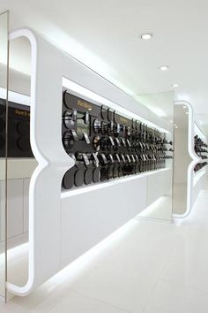♂ Commercial design contemporary store interior visual merchandising One2free Flagship store