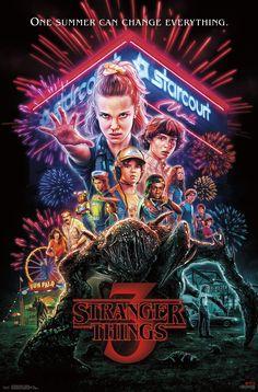 Stranger Things 3 - One Sheet Poster