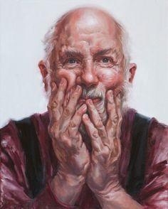 Judy Takacs (oil on canvas)