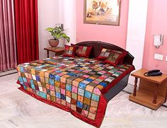 Coverlets, Work Bed, Furniture, Home Kitchens, Bed, Home, Coverlet Set, Home Decor, Bed Covers