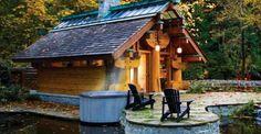 Coolest Little Log Cabin Ever! Just Look INSIDE