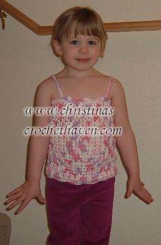 V-Doubles Tank Top (Size 4T)