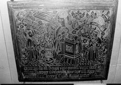 Brass made c 1492 to George Rede, rector of Fovant,  Fovant, Wiltshire