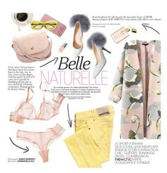 """Belle naturelle"" by punnky ❤ liked on Polyvore featuring Galliano, Prada, Christian Dior, women's clothing, women's fashion, women, female, woman, misses and juniors"