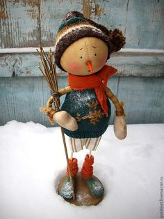 Купить Onsdag (Среда) - Новогодняя неделька - Новый Год, снеговик, Снег, подарок на новый год