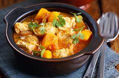 Butternut squash and chicken rogan josh - Tesco Real Food