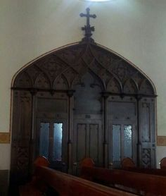 Confessional.
