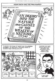 The History of Economics & Economic Theory Explained with Comics, Starting with Adam Smith