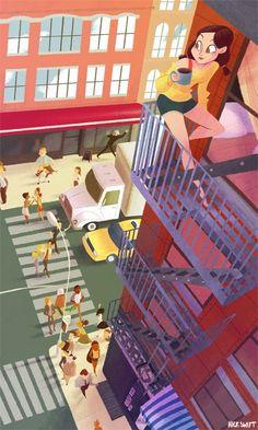 Lazy Morning by Nick Swift www.ceklit.com