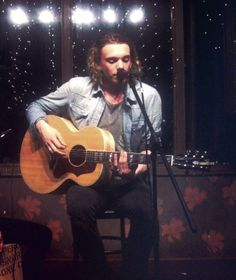 The Mortal Instruments: City of Bones's Jamie Campbell Bower (to play Jace Wayland) singing and playing music.