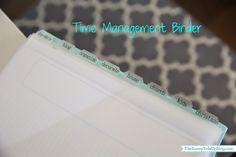 Sunny Side Up: Time Management Binder (revised!)