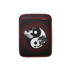 dragon ying yang ipad sleeve Ipad Sleeve, Laptop Sleeves, Dragon, Notebook Covers